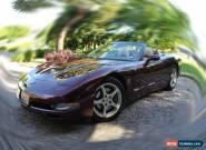 50th Anniversary Edition C5 Corvette Convertible for Sale