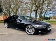2008 BMW 3 SERIES E92 335D M SPORT COUPE BLACK - FBMWSH - 12 MONTHS MOT - MINT for Sale