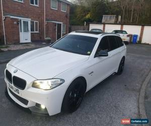 Classic 2014 BMW 520D M SPORT TOURING WHITE IMMACULATE TOP SPEC M PERFORMANCE *LOOK* for Sale