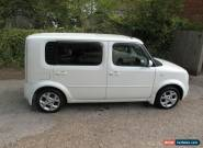 NISSAN CUBE, 1.4 AUTO, 7 SEAT, WHITE. for Sale