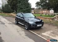 2007 BMW X5 SE 7S 3.0D AUTO BLACK for Sale