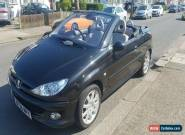 2006 Peugeot 206cc 1.6 Hdi 85400miles  for Sale