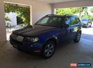 BMW: X3 2007 X3 3.0  for Sale