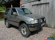 1997 VAUXHALL FRONTERA SPORT NIAGARA GOLD for Sale