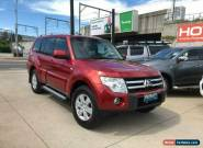 2008 Mitsubishi Pajero NS Platinum Edition Red Automatic A Wagon for Sale