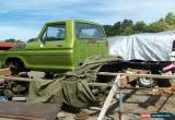 Classic collector car 76 Ford F100 ute for Sale