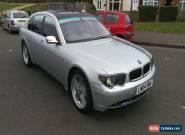 """2004 BMW 745 LI AUTO SILVER E65 WITH ALPINA 20"""" ALLOY WHEELS for Sale"""