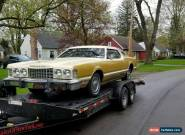 1976 Ford Thunderbird Gold and cream for Sale