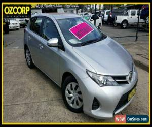 Classic 2014 Toyota Corolla ZRE182R Ascent Silver Automatic 7sp A Hatchback for Sale
