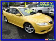 2003 Mazda 6 GG Luxury Yellow Automatic 4sp A Hatchback for Sale