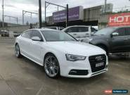 2014 Audi A5 8T White Automatic A Hatchback for Sale