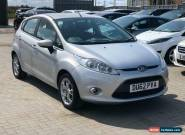 2012 Ford Fiesta 1.25 Zetec 5dr for Sale