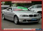 2003 BMW E46 E46 M Sport Silver Automatic 5sp A Convertible for Sale