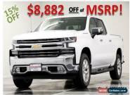 2019 Chevrolet Silverado 1500 MSRP$60565 LTZ 4X4 Crew Summit White 6.2L 4WD for Sale
