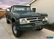 1971 Dodge Power Wagon Adventurer for Sale