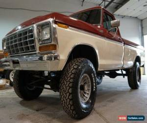 Classic 1979 Ford F-250 Ranger 4x4 for Sale