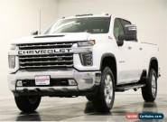 2020 Chevrolet Silverado 3500 HD MSRP$66785 4X4 LTZ Z71 Sunroof GPS White Crew for Sale