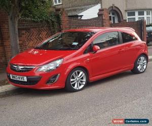 Classic Vauxhall Corsa 1.4 SRI 2013 Red for Sale