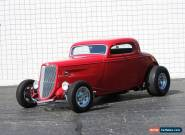 1934 Ford 3 Window Coupe Hot Rod for Sale