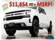 2019 Chevrolet Silverado 1500 RST Crew Cab 4X4  Heated Leather Z71 Sunroof  Came for Sale