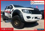 Classic 2011 Ford Ranger PX XL Hi-Rider Cab Chassis Double Cab 4dr Spts Aut White A for Sale