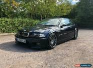 Bmw M3 SMG E46 road legal track car 2002 for Sale