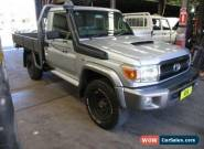 2010 Toyota Landcruiser VDJ79R 09 Upgrade GXL (4x4) Silver Manual 5sp M for Sale