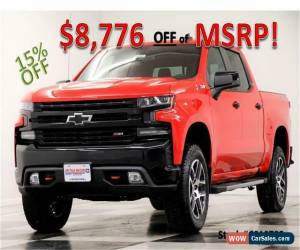 Classic 2019 Chevrolet Silverado 1500 MSRP$57775 4X4 LT Trail Boss Sunroof Z71 Red Crew for Sale