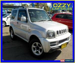 Classic 2007 Suzuki Jimny Upgrade JLX (4x4) Silver Automatic 4sp A Wagon for Sale