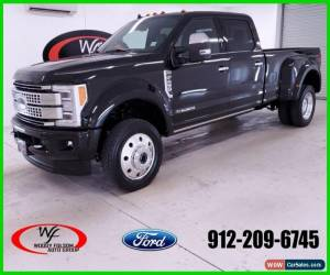 Classic 2019 Ford F-450 Platinum for Sale