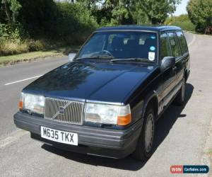 Classic Volvo 945 Lpt estate, 1995, 5 speed manual gearbox, Blue for Sale