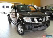 2007 Nissan Navara D40 ST-X Black Automatic 5sp A Utility for Sale