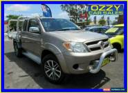 2005 Toyota Hilux GGN25R SR5 (4x4) Bronze Manual 5sp M Extracab for Sale