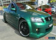 2010 Holden Commodore VE MY10 SS-V Green Manual 6sp M Utility for Sale