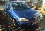Classic 2002 VAUXHALL ASTRA LS DTI 16V ECO BLUE for Sale