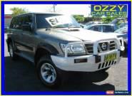 2003 Nissan Patrol GU III ST (4x4) Grey Manual 5sp M Wagon for Sale