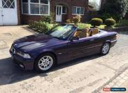 BMW E36 2.5 M Sport 1999 T Reg 27k Genuine Miles - BMW FSH MINT CONDITION RARE!! for Sale