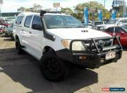 2005 Toyota Hilux KUN26R SR (4x4) White Automatic 4sp A Dual Cab Pick-up for Sale