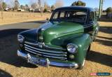 Classic Vintage 1948 Ford Super Deluxe Sedan for Sale