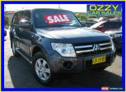 2008 Mitsubishi Pajero NS GLX LWB (4x4) Grey Manual 5sp M Wagon for Sale