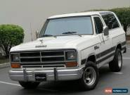 1986 Dodge Ramcharger for Sale