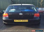 VW Golf S Mk4 1.6  for Sale