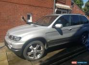Bmw x5 3l lpg spares or repair 22 inch alloys miss fire  for Sale