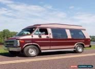 1989 Chevrolet G20 Van G20 Conversion Van for Sale