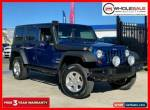 2010 Jeep Wrangler JK Unlimited Blue Manual M Softtop for Sale