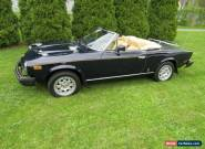 1982 Fiat 124 Spider 2000 for Sale