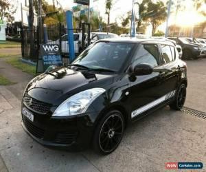Classic 2013 Suzuki Swift FZ GA Black Automatic 4sp A Hatchback for Sale