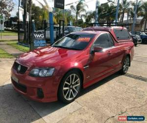 Classic 2010 Holden Ute VE II SS V Red Automatic A Utility for Sale