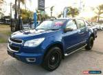 2012 Holden Colorado RG LTZ Blue Automatic A Utility for Sale
