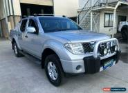 2007 Nissan Navara D40 ST-X Silver Automatic A Utility for Sale